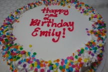 Ice cream cake: perfect for a summer birthday!